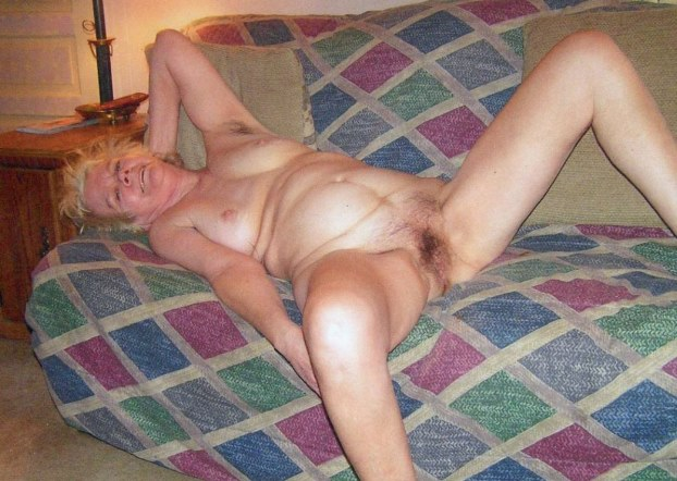 Granny entertains herself at home 3