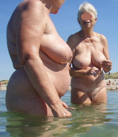 Free nude beach grannies