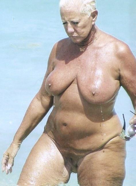 Granny nudists consider