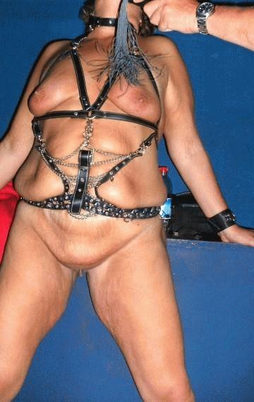 Mature granny bondage sex interracial lover 2