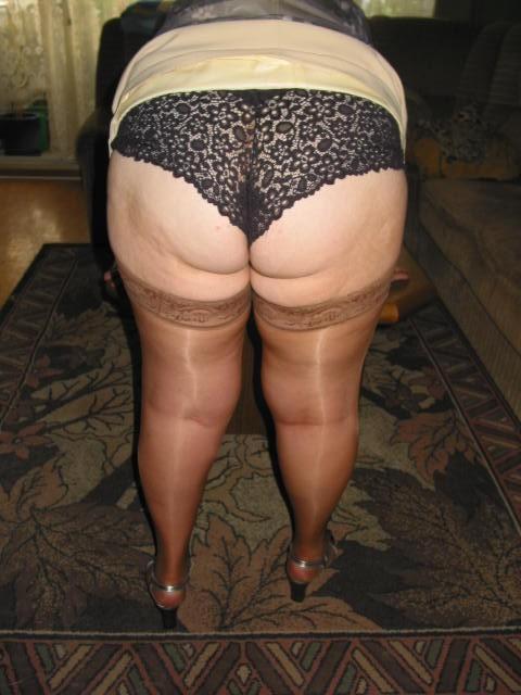 seniors in pantyhose