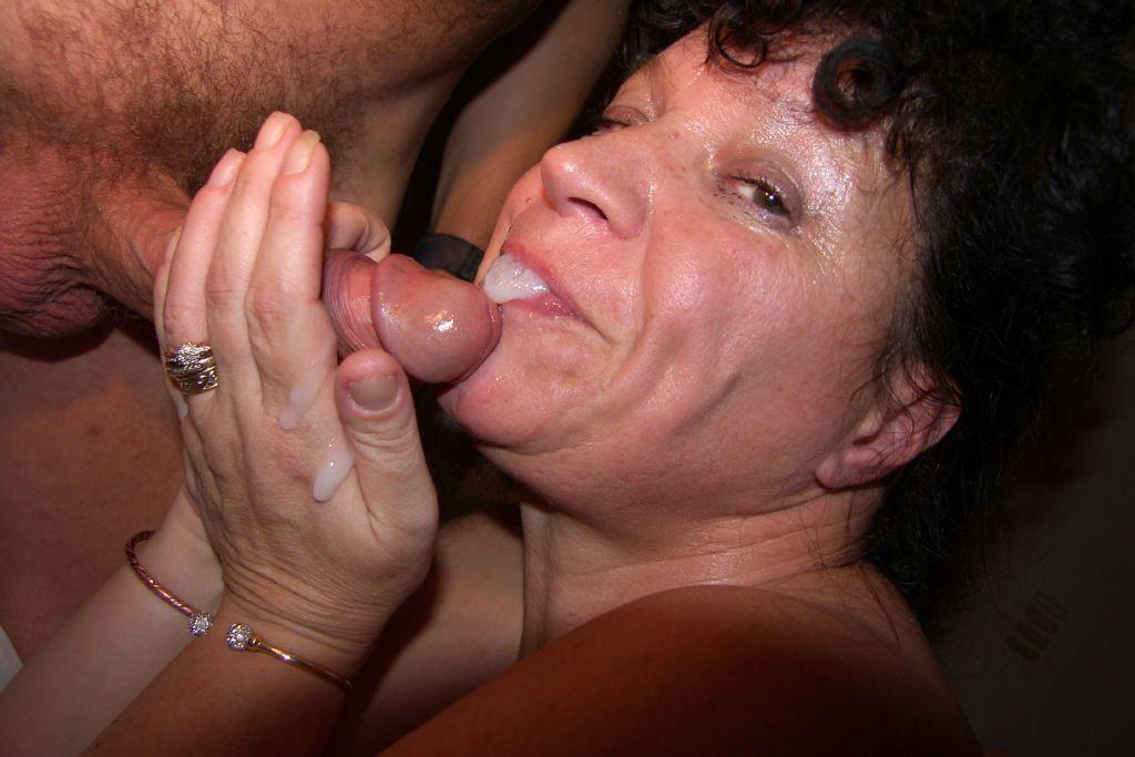 Oma Blow Job