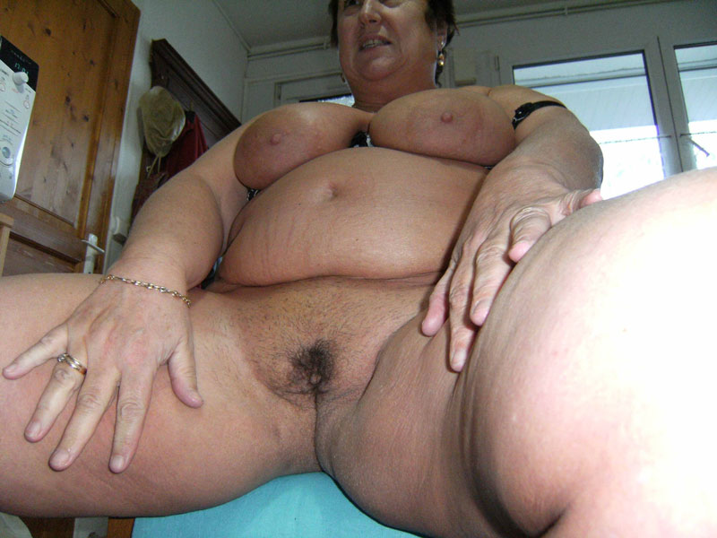 Chubby older woman sex