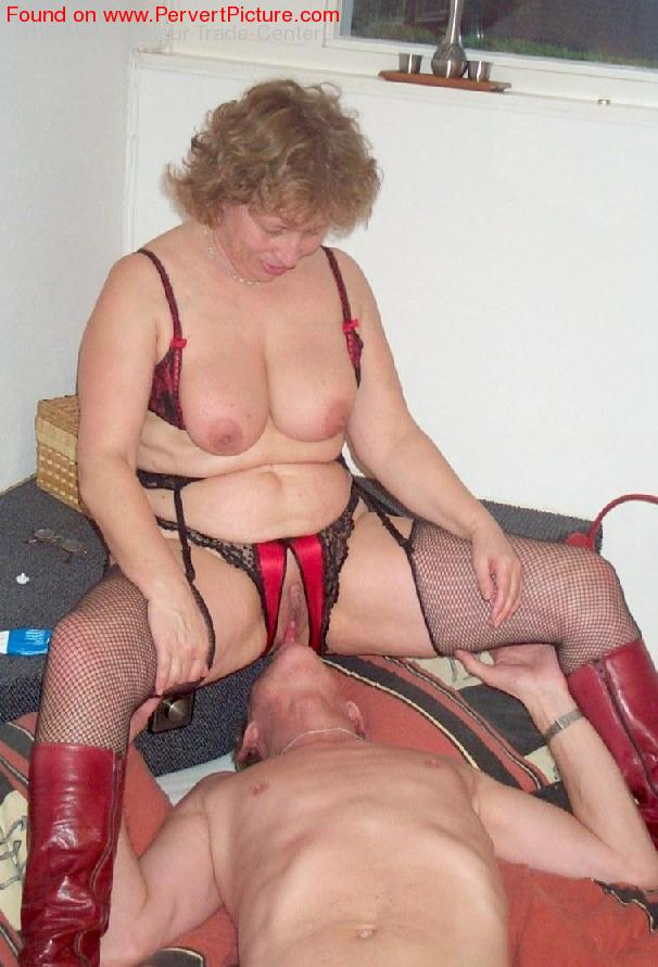 Pervert granny having fun with boy real amateur 10