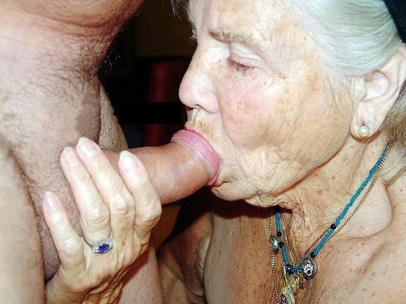 Old granny sucking