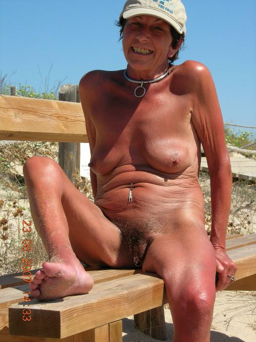 Nude beach grannies hot