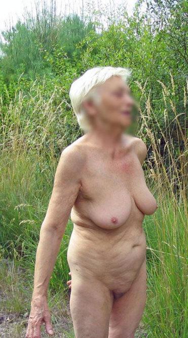 granny beach nudists